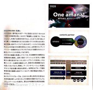 株式会社アマナ株主通信2019.12