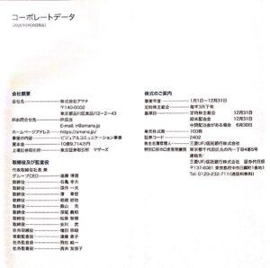 株式会社アマナ株主通信202006
